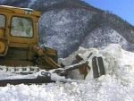 В Грузии из-за сильного снегопада введены ограничения на движение транспорта