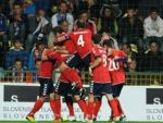 Сборная Армении побеждает сборную Канады — 3:1