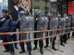 Сегодня активисты со сквера Маштоца парализовали движение в Ереване