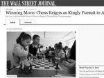 Шахматы – королевское занятие в Армении — «The Wall Street Journal»