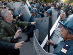 Сразу в трех районах Азербайджана начались волнения
