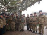 Армянские генералы из Диаспоры побывали на границе с Азербайджаном