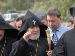 Гарегин Второй отбыл с патриаршим визитом в Великобританию