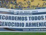 Легендарная «Бока Хуниорс» почтила память жертв Геноцида армян