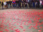 В Москве прошла массовая акция к годовщине памяти жертв Геноцида армян