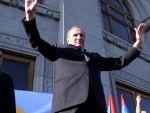 В Ереване после долгого перерыва на митинге собрались сторонники Левона Тер-Петросяна