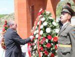 В Нагорном Карабахе открылся памятник погибшим в Мартуни воинам-освободителям