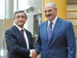 Серж Саргсян и Александр Лукашенко провели переговоры в Ереване