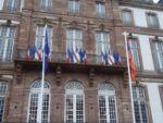 Перед мэрией Страсбурга взвился флаг Армении