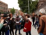 Акция протеста у Крытого рынка: Самвел Алексанян не соблюдает закон