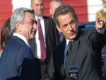Президент Армении прибыл во Францию