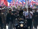 В ходе протестных столкновений был убит лидер оппозиции