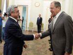 Глава МИД России и Серж Саргсян, президент Армении выразили желание и далее продолжать сотрудничество