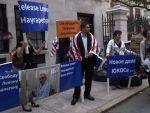 На днях в поддержку Левона Айрапетяна в американском Нью-Йорке прошла акция