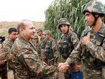 Министр обороны НКР посетил одну из воинских частей