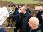 Президент Нагорного Карабаха ознакомился со строительством дорог