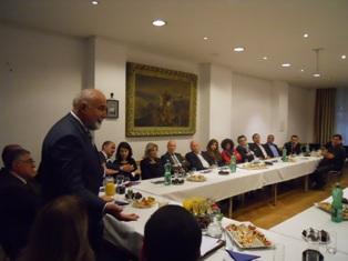 К вопросу о визите министра экономики Румынии Восканяна в Вену и его встрече с представителями армянской общины Австрии