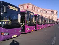 Автотранспорт в Ереване терпит убыток