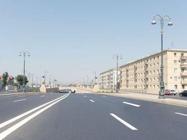 Движение на одном из проспектов в Баку восстановлено