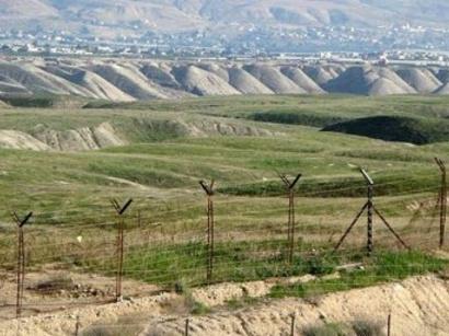 Заблудившийся солдат Армении на территории Азербайджана