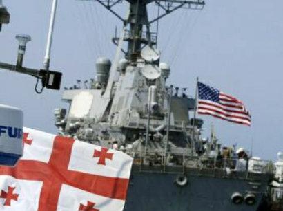 Грузино-американские морские учения