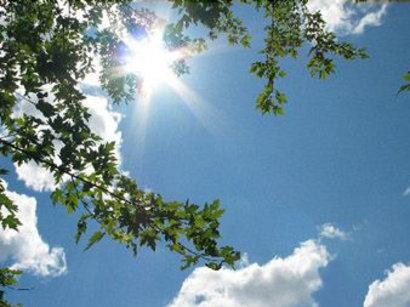 С 16 по 18 августа температура воздуха в Азербайджане местами повысится до 40 градусов