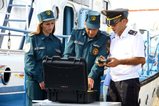 Поставка нового оборудования для специальных водно-спасательных бригад