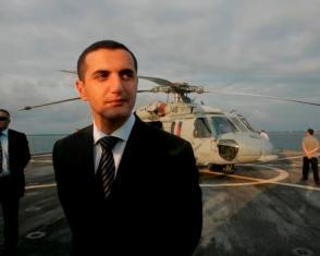 В Ниццк был задержан экс=министра обороны Грузии