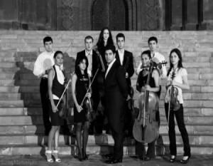 Госмолодежный оркестр Армении - концерт в 2014 году