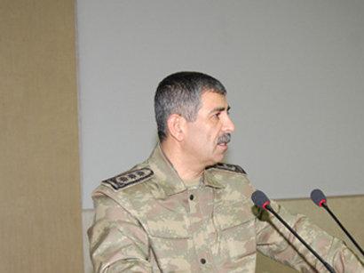Министр обороны Азербайджана находится с визитом в Москве