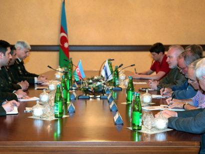 Азербайджанский Минобороны принял у себя сопредседателей Минской группы ОБСЕ