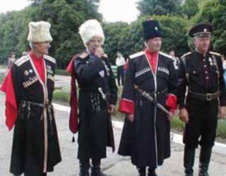 Празднование 15-летия казачьего движения