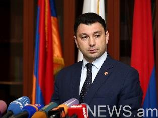 Очередное Национальное Собрание Армении началось позже из – за бойкота парламентской оппозицией