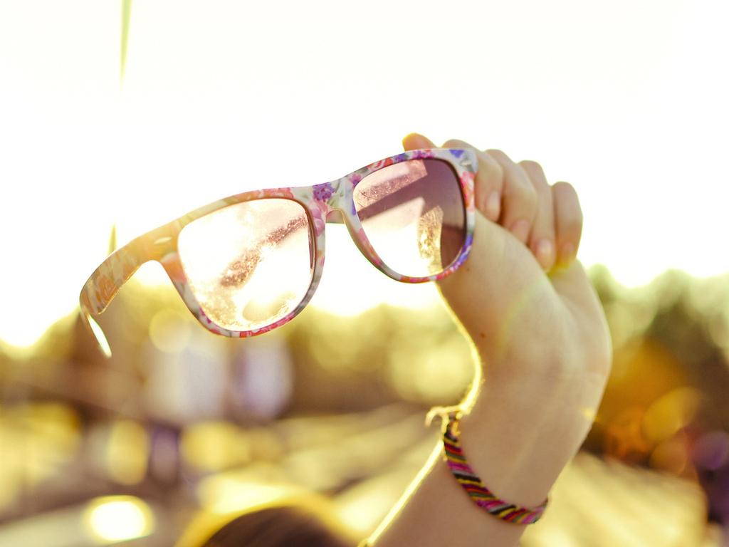очки летом