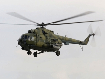 Военный вертолет России нарушил воздушные границы Грузии