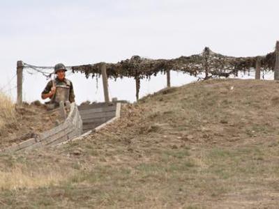 Военнослужащие, обороняющие Нагорный Карабах, не дали диверсионной группе ВС Азербайджана пресечь границу