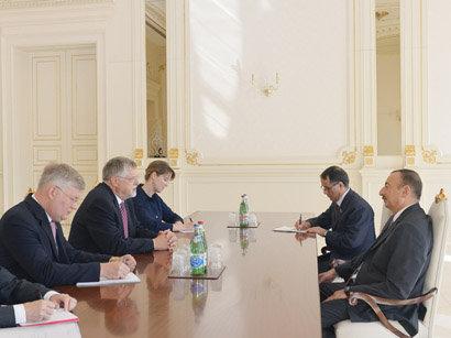 Президент Азербайджана на днях принял у себя делегацию ЕС по Южному Кавказу